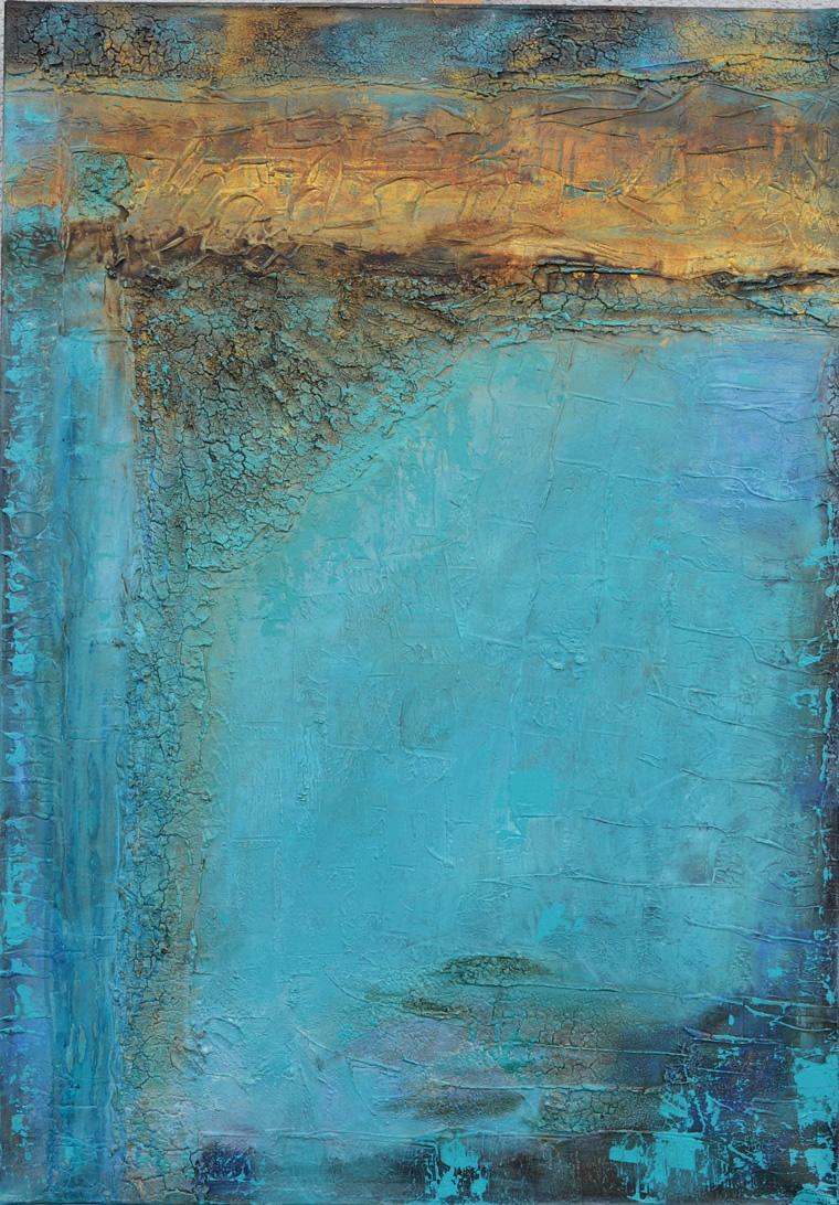 Gudrun Tischler, wonderful-ART, Künstler, artist, abstrakte Malerei, Struktur, Acrylfarben