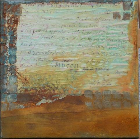 Gudrun Tischler, wonderfulART, Künstler, artist, abstrakte Malerei, Rost, Kupfer, Patina