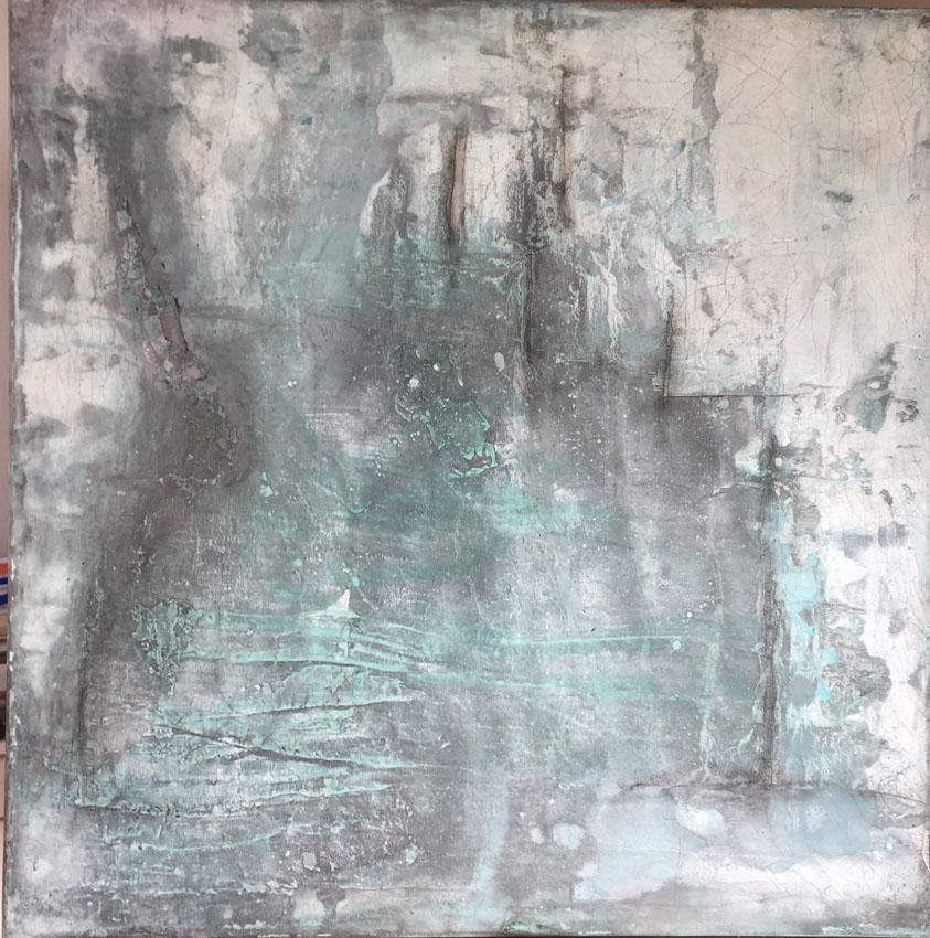 Gudrun Tischler, artist, Künstler, wonderfulART, Struktur trifft Farbe, abstrakte experimentelle Malerei