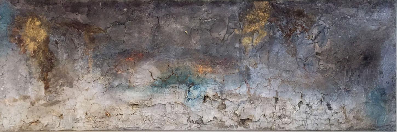 Gudrun Tischler, wonderfulART, Künstler, artist, abstrakte Malerei, Marmormehl, Baumaterial, Acrylfarben, Schellack, Beizen, Hautleim